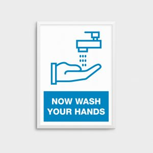 Wash Your Hands Poster  COV02