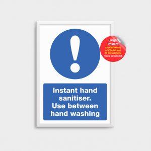 Information Poster Hand Sanitiser COV04